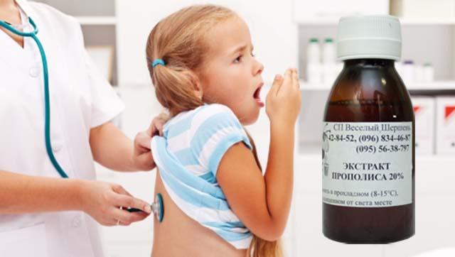 Как правильно лечиться настойкой прополиса от кашля детям и взрослым. Отзывы