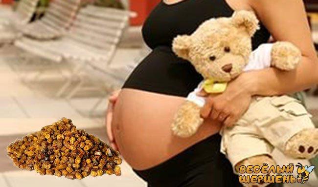 противопоказания к перге при беременности
