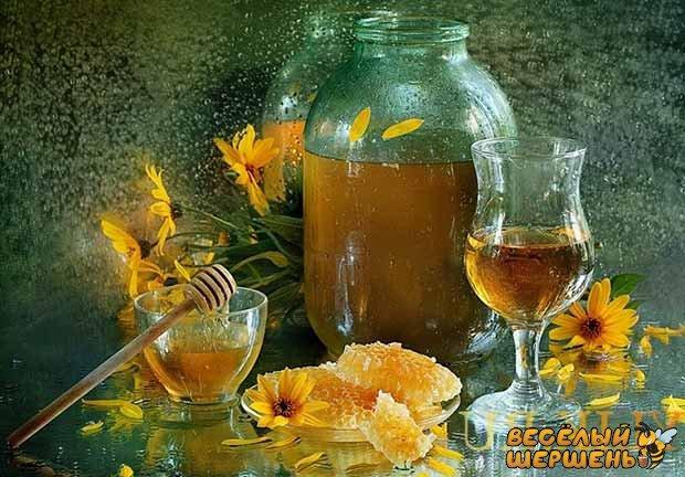 калорийность медовухи