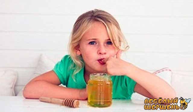 Симптомы аллергии на мед у детей. Как проявляется