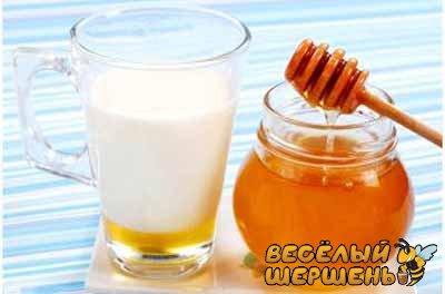 молоко с медом при беременности при простуде