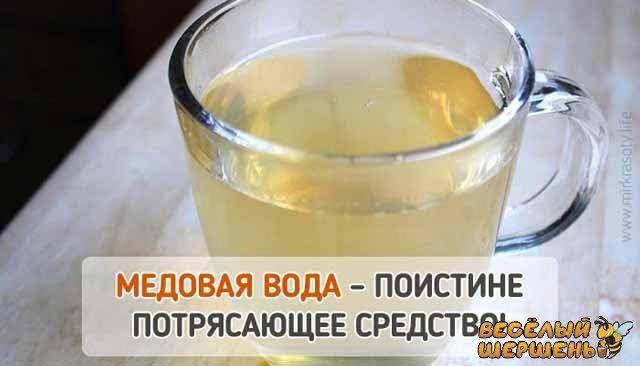 польза и вред воды с медом натощак