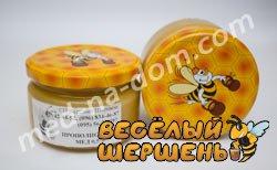мед з прополісом