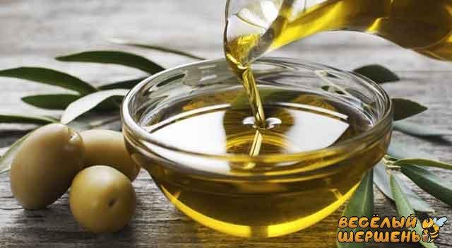 оливкова олія і мед
