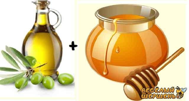Маска для волосся з оливкової олії і меда