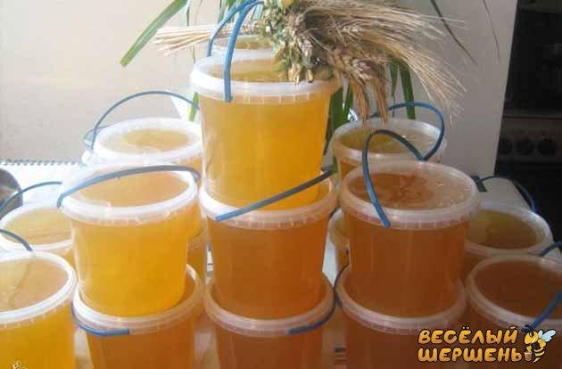 зберігання меду в домашніх умовах