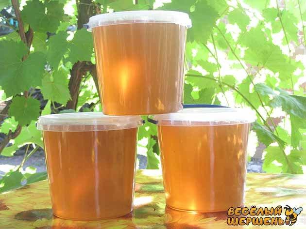 густина рідкого меду