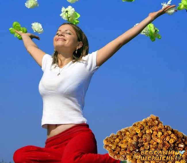 В чем польза пчелиной пыльцы для женщин